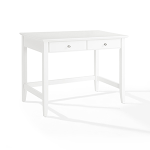 Campbell Writing Desk in White Finish