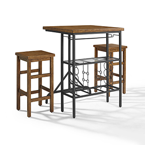 Sienna 3 Piece Casual Dining Set in Moroccan Pine