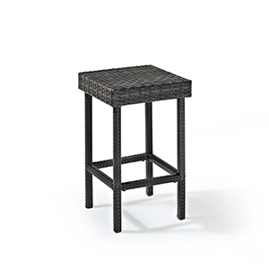 Palm Harbor Outdoor Wicker Counter Height Stool- Set Of 2