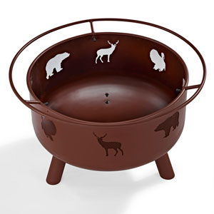 Durango Clay Wildlife Firepit