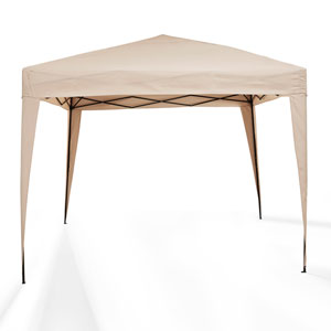 Hampton Tan Outdoor Collapsible Gazebo