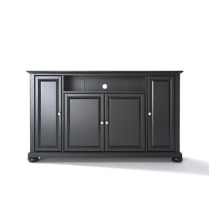 Alexandria 60-Inch TV Stand in Black Finish