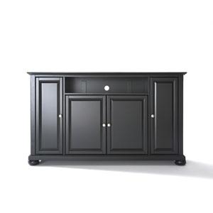 Alexandria 60-Inch TV Stand in Black Finish