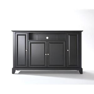 LaFayette 60-Inch TV Stand in Black Finish