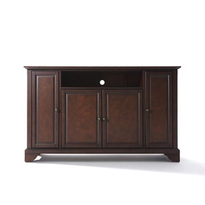 LaFayette 60-Inch TV Stand in Vintage Mahogany Finish