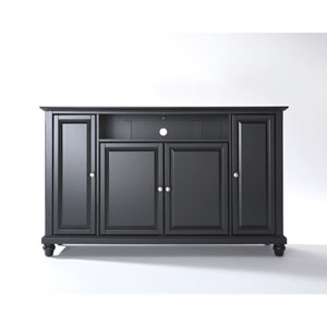 Cambridge 60-Inch TV Stand in Black Finish