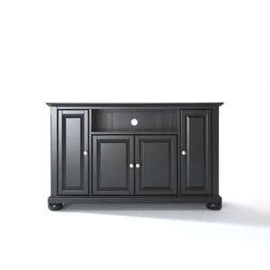 Alexandria 48-Inch TV Stand in Black Finish