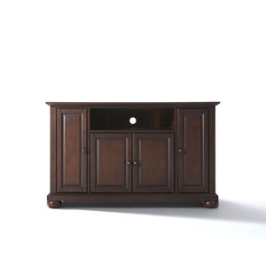 Alexandria 48-Inch TV Stand in Vintage Mahogany Finish