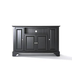 LaFayette 48-Inch TV Stand in Black Finish