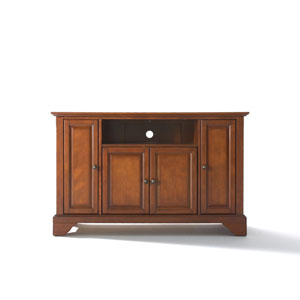 LaFayette 48-Inch TV Stand in Classic Cherry Finish
