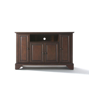 LaFayette 48-Inch TV Stand in Vintage Mahogany Finish
