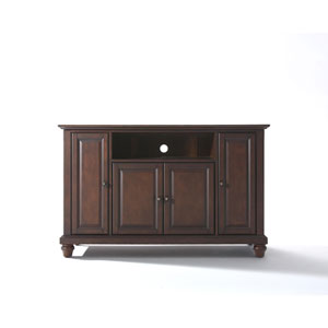 Cambridge 48-Inch TV Stand in Vintage Mahogany Finish