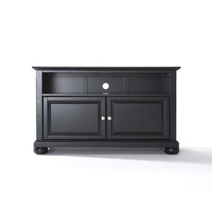 Alexandria 42-Inch TV Stand in Black Finish