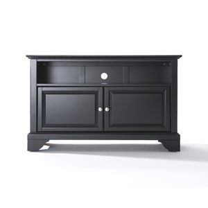 LaFayette 42-Inch TV Stand in Black Finish