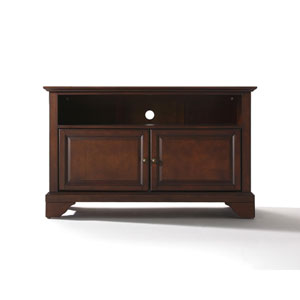 LaFayette 42-Inch TV Stand in Vintage Mahogany Finish