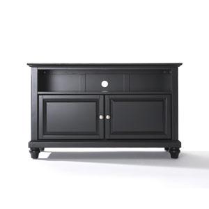 Cambridge 42-Inch TV Stand in Black Finish