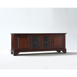 LaFayette 60-Inch Low ProfileTV Stand in Vintage Mahogany Finish