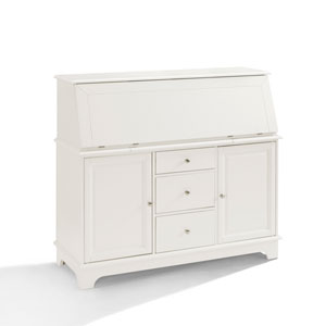 Sullivan White Secretary Desk