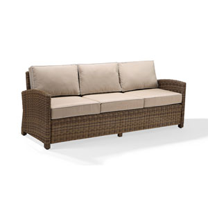 Bradenton Sofa with Sand Cushions