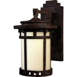 Santa Barbara LED Sienna One-Light Eleven-Inch Outdoor Wall Sconce