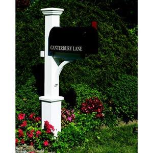 Canterbury Mailbox Post