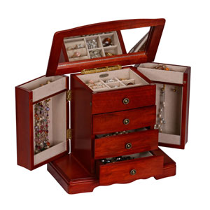 Harmony Cherry Jewelry Box
