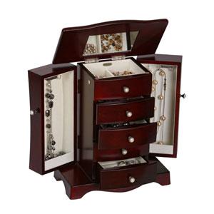 Bette Jewelry Box in Cherry
