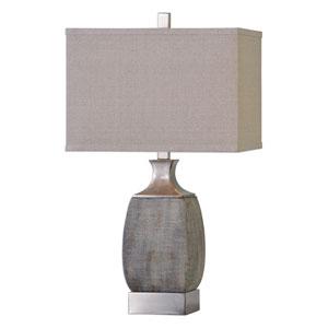 Caffaro Textured Rust Bronze One-Light Table Lamp