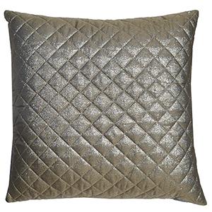 Aura Gold Polyester Decorative Pillow