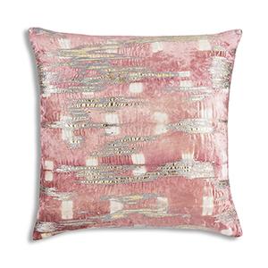 Boheme Pink Velvet Decorative Pillow