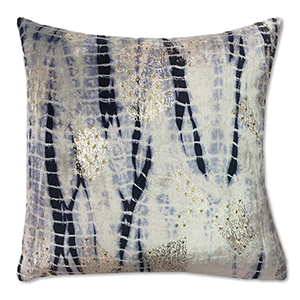 Boheme Navy Velvet Decorative Pillow