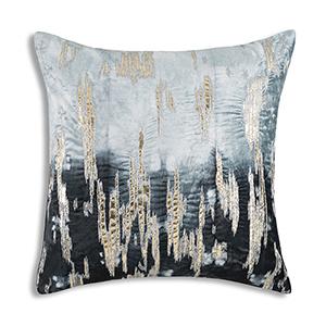 Boheme Navy Velvet Decorative Pillow