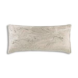 Granite Pink Linen Decorative Pillow