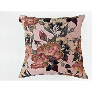 Hazel Multi Velvet Decorative Pillow