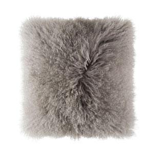 Luna Light Grey 20 In. Decorative Pillow