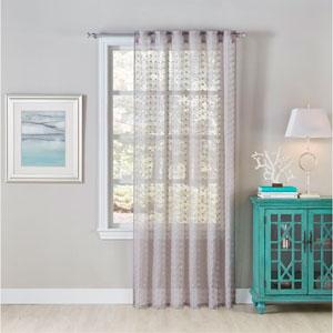 Mia Grey 96 X 54-Inch Window Panel