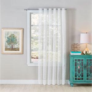 Mia Ivory 120 X 54-Inch Window Panel