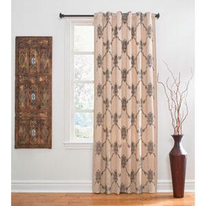 Nico Multicolor 120 x 54 In. Linen Curtain Panel