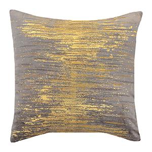 Verona Gold Velvet Decorative Pillow
