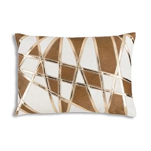 Zeke Gold Velvet Decorative Pillow