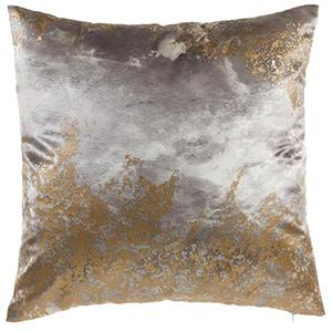 Zen Gold Velvet Decorative Pillow