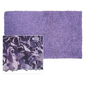 Kids Shaggy Raggy Purple Rectangular: 4.7 Ft. x 7.7 Ft.