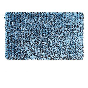 Kids Shaggy Raggy Blue and Brown Rectangular: 4.7 Ft. x 7.7 Ft.