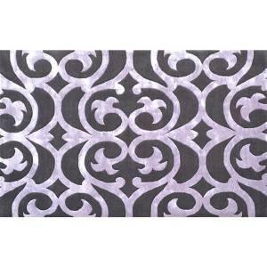 Bellagio Aubergene Rectangular: 5 Ft. x 8 Ft. Rug