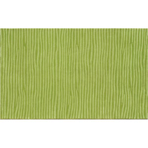 Ecconox Wavy Green Rectangular: 5 Ft. x 8 Ft.