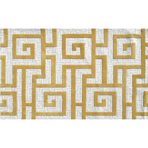 Ecconox Rome Gold Rectangular: 5 Ft. x 8 Ft.