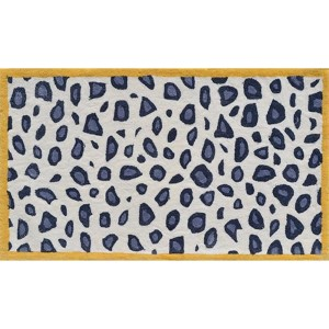 Cheatico Yellow and Gray Rectangular: 4 Ft. 7 In. x 7 Ft. 7 In. Rug
