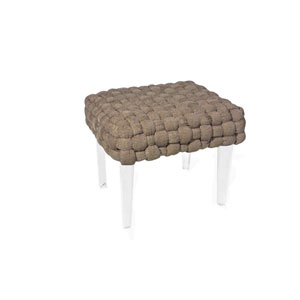 Versailles Brown Stool