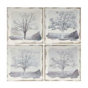 Danica Gray Arboreal Wall Art Set of 4