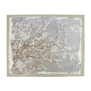 Saison White Cherry Blosson Canvas Wall Art